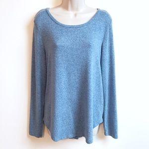 🆕 Old Navy super soft scoop neck blue sweater